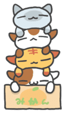 ORANGE BOX CAT sticker #10419113