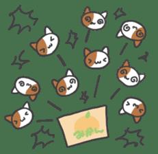 ORANGE BOX CAT sticker #10419115
