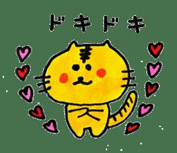 Tiger cat , day-to-day Torao sticker #10419658