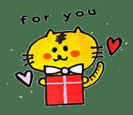 Tiger cat , day-to-day Torao sticker #10419674