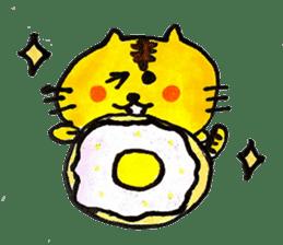 Tiger cat , day-to-day Torao sticker #10419677
