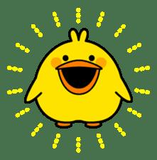 Plump Little Chick sticker #10425361