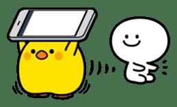 Plump Little Chick sticker #10425364