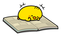 Plump Little Chick sticker #10425366