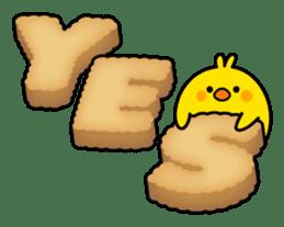 Plump Little Chick sticker #10425368