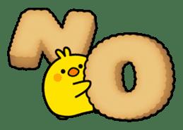 Plump Little Chick sticker #10425369