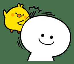 Plump Little Chick sticker #10425374