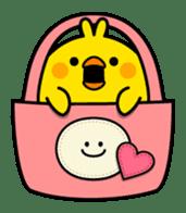 Plump Little Chick sticker #10425390