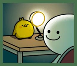 Plump Little Chick sticker #10425396