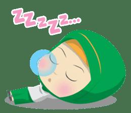 Aisyah The Cute Muslimah sticker #10426350