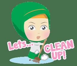 Aisyah The Cute Muslimah sticker #10426351