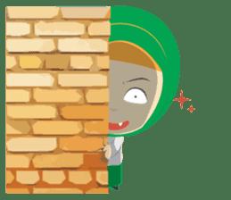 Aisyah The Cute Muslimah sticker #10426354