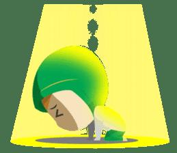 Aisyah The Cute Muslimah sticker #10426357