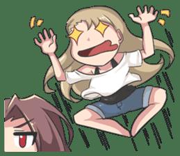 Lily & Marigold (Part Miya Full) sticker #10427379