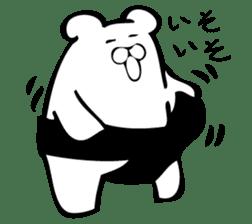 Daily life's Sticker of Mr. white bear sticker #10436379
