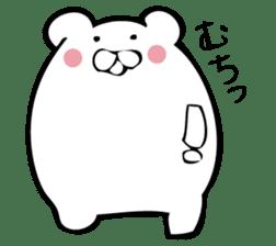 Daily life's Sticker of Mr. white bear sticker #10436383