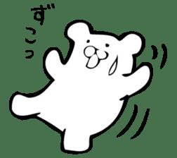 Daily life's Sticker of Mr. white bear sticker #10436399