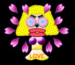XOXO Monkeys 12Japan sticker #10446631