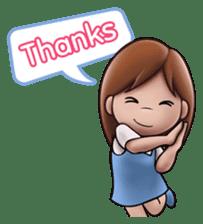 Little Cute Girl Cha-cha sticker #10448909