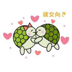 Love Love turtle