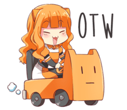 The Daily Life of Reon from re:ON Comics sticker #10452217