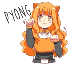 The Daily Life of Reon from re:ON Comics sticker #10452220