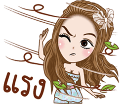 Pretty Girl Story sticker #10453207