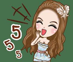Pretty Girl Story sticker #10453224