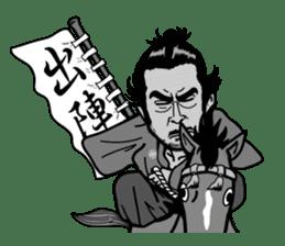 Last Samurai Mifune sticker #10455080