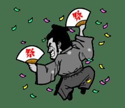 Last Samurai Mifune sticker #10455083