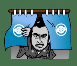 Last Samurai Mifune sticker #10455086