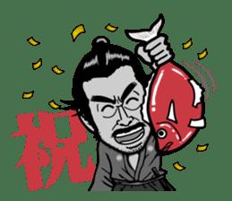 Last Samurai Mifune sticker #10455088