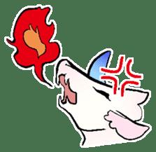 wing&tail(BlueDragon) sticker #10455717