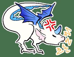 wing&tail(BlueDragon) sticker #10455718