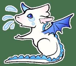 wing&tail(BlueDragon) sticker #10455723