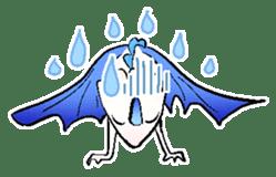 wing&tail(BlueDragon) sticker #10455734