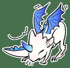 wing&tail(BlueDragon) sticker #10455742