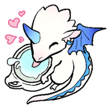 wing&tail(BlueDragon) sticker #10455750