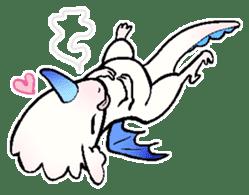 wing&tail(BlueDragon) sticker #10455751
