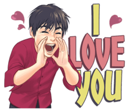 Luwo & Sasa (English Language) sticker #10462970