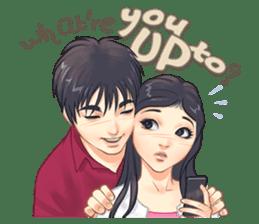 Luwo & Sasa (English Language) sticker #10462973