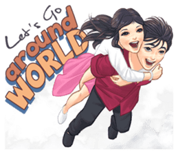Luwo & Sasa (English Language) sticker #10462999