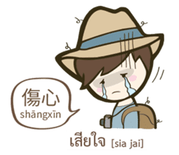 Backpack Sir Sir : Lost in Taipei sticker #10463925