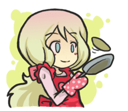 The Little Housewife sticker #10464125
