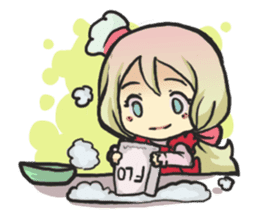 The Little Housewife sticker #10464132