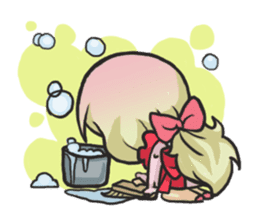 The Little Housewife sticker #10464141