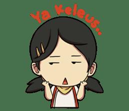 Yumna - (Battle of Surabaya) sticker #10464605