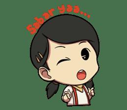Yumna - (Battle of Surabaya) sticker #10464610