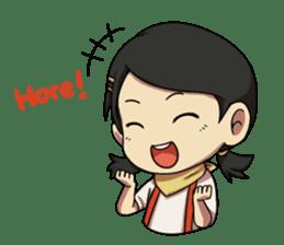 Yumna - (Battle of Surabaya) sticker #10464615