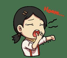 Yumna - (Battle of Surabaya) sticker #10464629